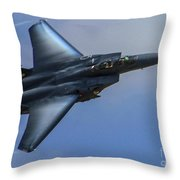 F-15 Going Supersonic Throw Pillow