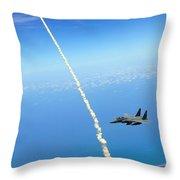F-15e Strike Eagle Throw Pillow