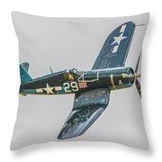 F-4u Corsair Throw Pillow