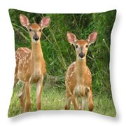 F A W N S  Throw Pillow