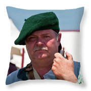 F And I War Re-enactor 6942 Throw Pillow