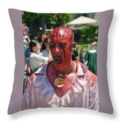F And I War Re-enactor 6972 Throw Pillow