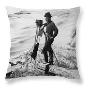 F. Jay Haynes (1853-1921) Throw Pillow