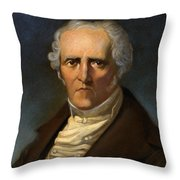 F. M. Charles Fourier  Throw Pillow