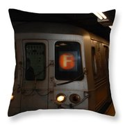 F Trian Throw Pillow