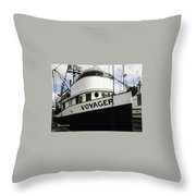 F V Voyager Throw Pillow