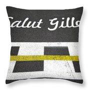 F1 Circuit Gilles Villeneuve - Montreal Throw Pillow