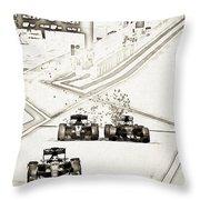 F1 Throw Pillow
