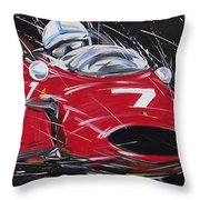 F1 Surtees Ferrari 1964 Throw Pillow