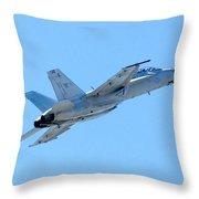F18 Throw Pillow