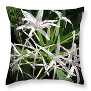 F3 Queen Emma Lily Throw Pillow