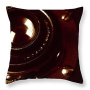 F4.5 Lens Throw Pillow