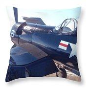 F4fu Corsair Throw Pillow