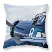 F4u Corsair N11y Throw Pillow