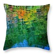 Fabian Pond Reflections3 Throw Pillow