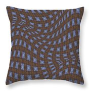 Fabric Design 17 Throw Pillow by Karen Musick