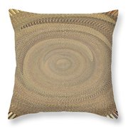 Fabric Design Abstract #9825pc Throw Pillow