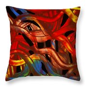 Fabric Of The Universe Throw Pillow
