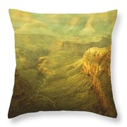 Fabric Of Time Throw Pillow