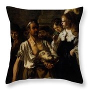 Fabritius Carel The Beheading Of St John The Baptist Throw Pillow