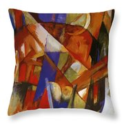 Fabulous Beast II 1913 Throw Pillow