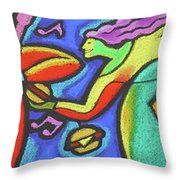 Fabulous Outdoor Party Throw Pillow