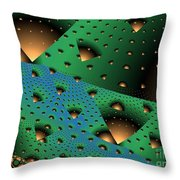 Facades And Fenestration Throw Pillow