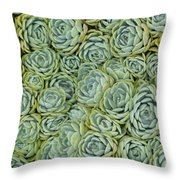 Face In The Crowd Throw Pillow by Ekta Gupta