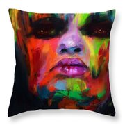 Face Me Throw Pillow