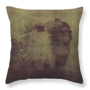 Face Of Jesus Throw Pillow