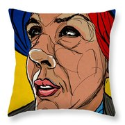 Face The Sun Throw Pillow