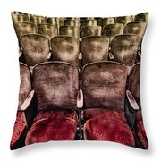 Face Your Audience Throw Pillow