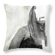 Faceless No 03 Throw Pillow