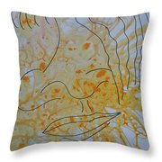 Faces 5 Throw Pillow