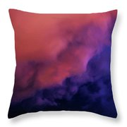 Faces In The Clouds 001 Throw Pillow