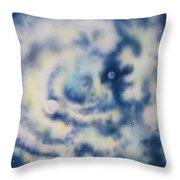 Faces Of Creation Throw Pillow