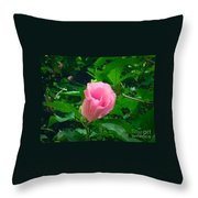 Facing Forward  Throw Pillow