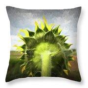 Facing Tomorrow - #2 Throw Pillow