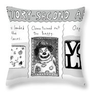 Factory Second Art Throw Pillow