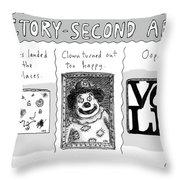 Factory Second Art Throw Pillow