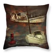Fade Away Original Throw Pillow