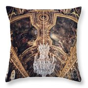 Faded Chandelier  Throw Pillow