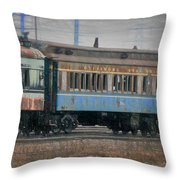 Faded Glory - B And O Railroad Car Throw Pillow