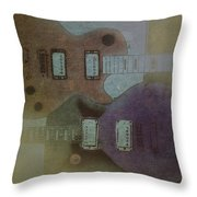 Faded Glory - Les Paul Throw Pillow