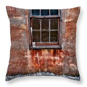 Faded Over Time Throw Pillow