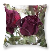 Faded Rose 2 Throw Pillow