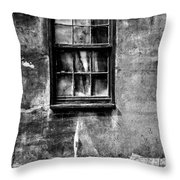 Faded With Time II B-w Throw Pillow