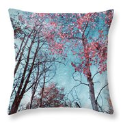 Fading Changes Throw Pillow