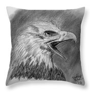 Fading Cry Throw Pillow