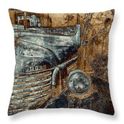 Fading Dodge Throw Pillow